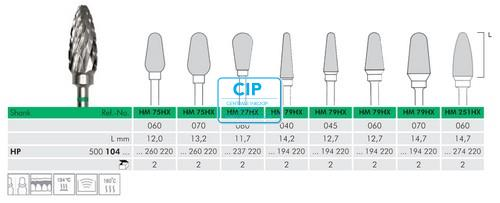 MEISINGER HP CARBIDE FRAIS DBS 79HX060 (1st)