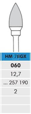 MEISINGER HP CARBIDE FRAIS DBS 78GX060 (2st)