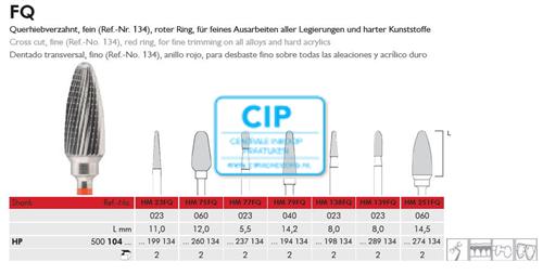 MEISINGER HP CARBIDE FRAIS 251FQ060 (2st)