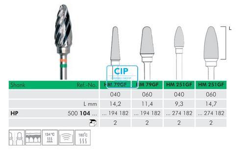 MEISINGER HP CARBIDE FRAIS 79GF040 (1st)