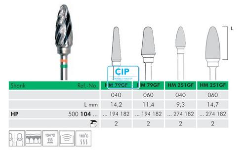 MEISINGER HP CARBIDE FRAIS 79GF060 (1st)