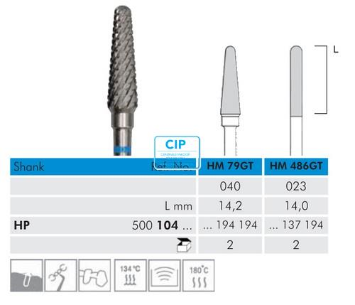 MEISINGER HP CARBIDE FRAIS 79GT040 (2st)
