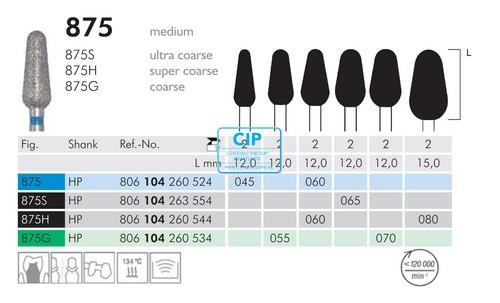 MEISINGER HP FRAIS 875G055 (2st)