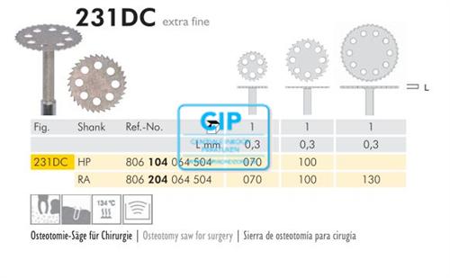 MEISINGER DIAMANT ZAAG 231DC RA130 (1st)