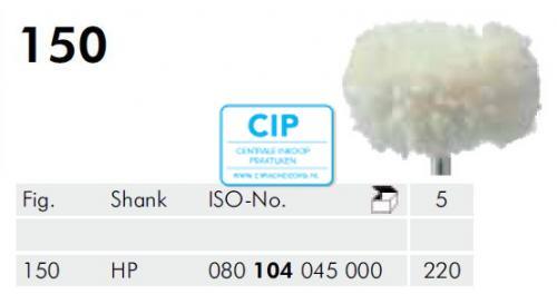 MEISINGER HP KATOENSCHIJF 150/220 (5st)