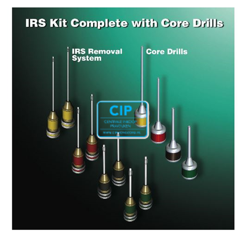SAN DIEGO INSTRUMENT REMOVAL SYSTEM KIT (8pcs/ 4 core drills)