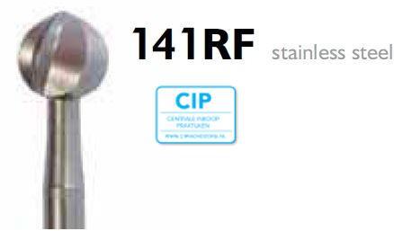 MEISINGER HP RVS ZESBLADIGE ALLPORT BOOR 141RF040 (2st)