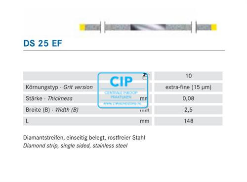 KOMET SCHUURSTRIP DIAMANT EXTRA-FIJN GEEL NR.DS-25EF (10st)