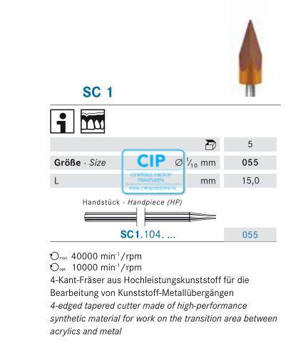 KOMET HP SOFT CUTTER SC1/055 (5st)