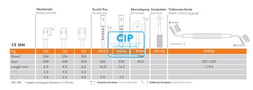 MEISINGER 3D NAVIGATION CONTROL DRILL EXTENSION BV040