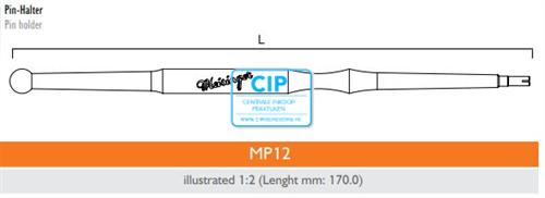 MEISINGER MASTER MP12 PINHOLDER (1st)