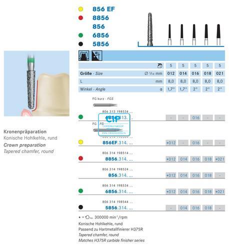 KOMET HP DIAMANT 856/033 (5st)