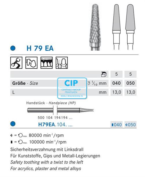 KOMET HP CARBIDE FRAIS H79EA040 (5st)