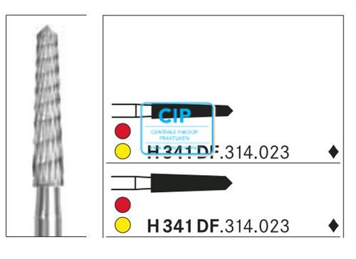 KOMET FG CARBIDE H341DF018 (5st)
