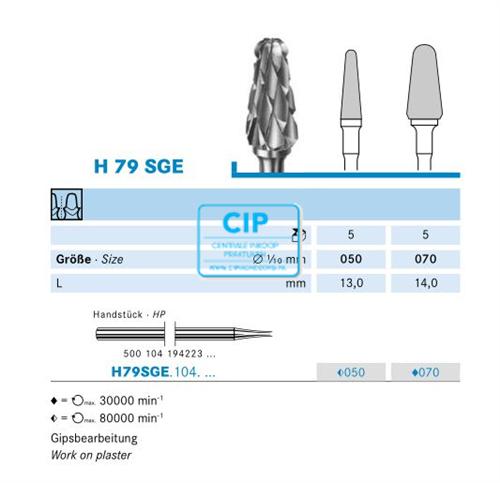 KOMET HP CARBIDE FRAIS H79SGE050 (1st)