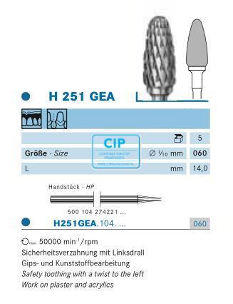 KOMET HP CARBIDE FRAIS H251GEA060 (1st)