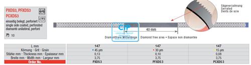 EDENTA DIA-STRIPS 15mu NR.PCXDS3 (10st)
