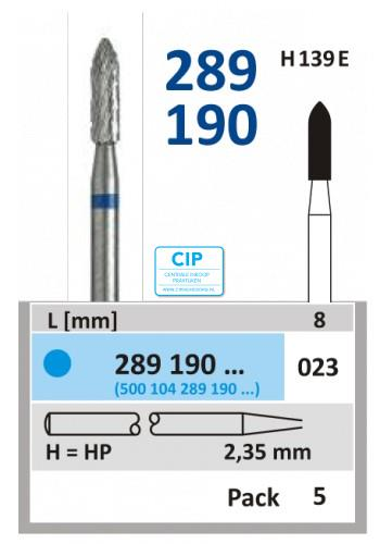 HORICO HP CARBIDE FRAIS 289190/023 (5st)