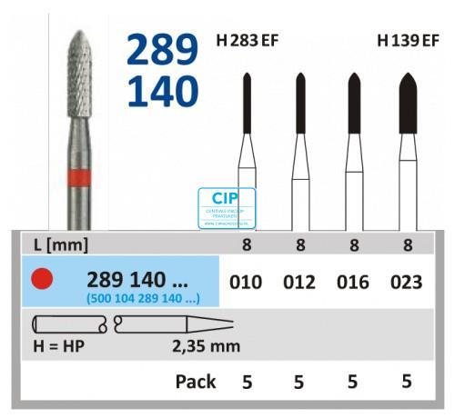 HORICO HP CARBIDE FRAIS 289140/023 (5st)