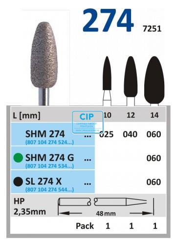 HORICO HP SINTER DIAMANT SL 274X060 (1st)