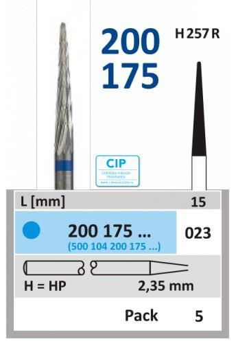 HORICO HP CARBIDE FRAIS 200175/023 (5st)