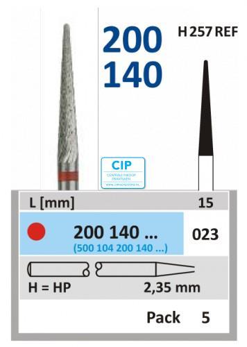 HORICO HP CARBIDE FRAIS 200140/023 (5st)