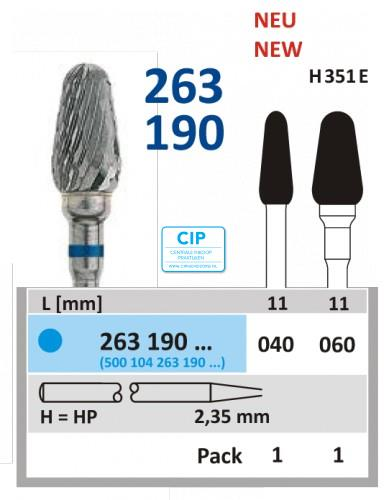 HORICO HP CARBIDE FRAIS 263190/060 (1st)