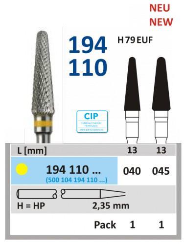 HORICO HP CARBIDE FRAIS 194110/040 (1st)