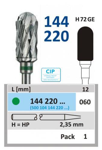 HORICO HP CARBIDE FRAIS 144220/060 (1st)