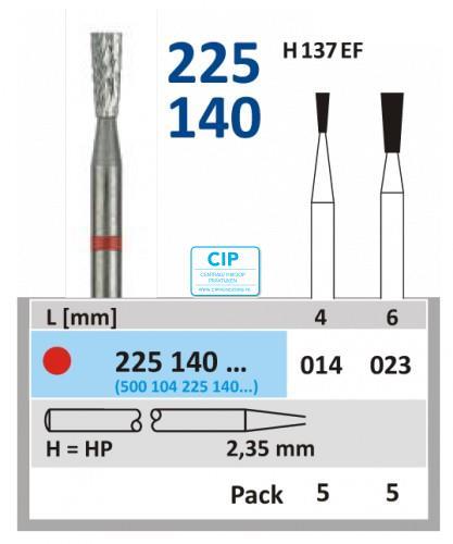 HORICO HP CARBIDE FRAIS H225140/023 (5st)