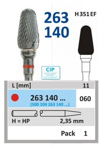 HORICO HP CARBIDE FRAIS 263140/060 (1st)