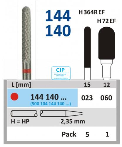 HORICO HP CARBIDE FRAIS 144140/060 (1st)