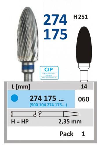 HORICO HP CARBIDE FRAIS 274175/060 (1st)