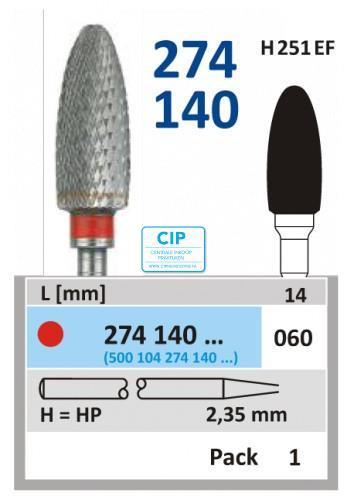 HORICO HP CARBIDE FRAIS 274140/060 (1st)