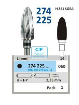 HORICO HP CARBIDE FRAIS 274225/060 (1st)