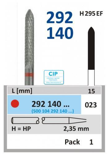HORICO HP CARBIDE FRAIS 292140/023 (5st)