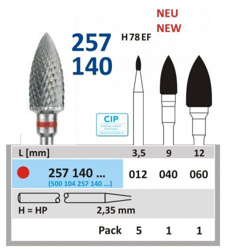 HORICO HP CARBIDE FRAIS 257140/060 (1st)