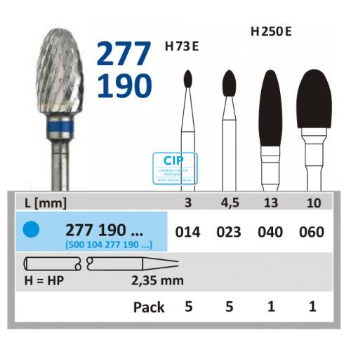 HORICO HP CARBIDE FRAIS 277190/023 (5st)