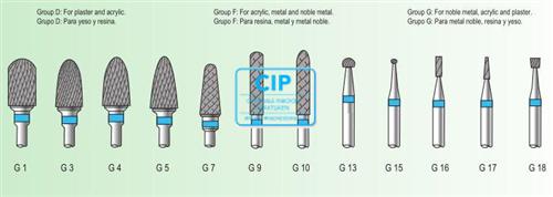UPPERMAXI UPPER-MANT MARATON CARBIDE FRAIS G-1 (1st)
