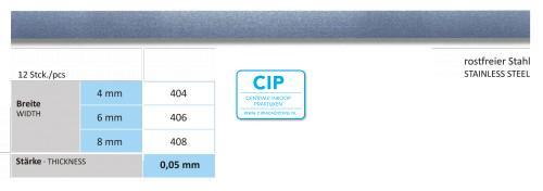 HORICO SCHUURSTRIPS ENKELZIJDIG NR.406 6mm (12st)