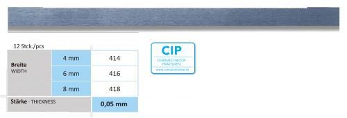 HORICO SCHUURSTRIPS DUBBELZIJDIG NR.416 6mm (12st)