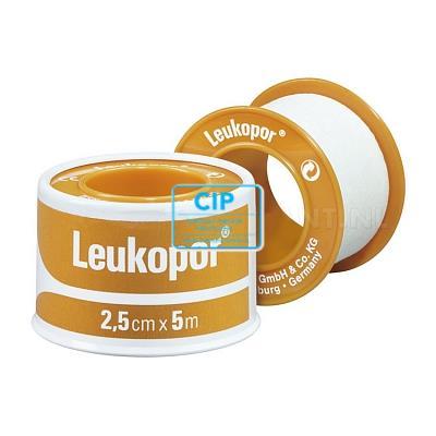 BSN LEUKOPOR 5m x 2,5cm 2472  (rol)
