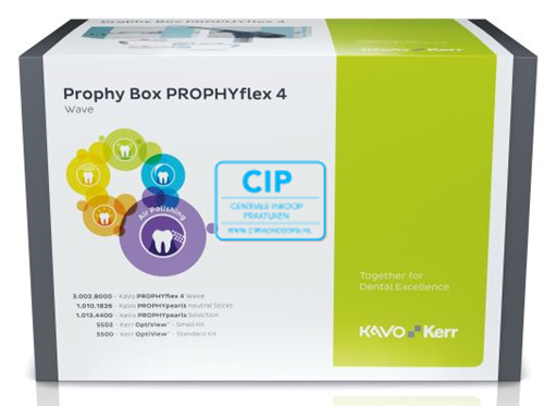 KAVO PROPHY BOX PROPHYFLEX 4 WAVE (BLAUW) SET REF: 1.013.5078