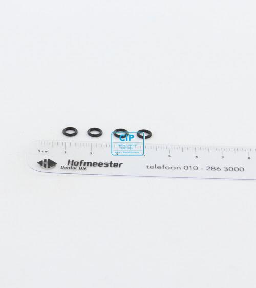 KAVO MULTIFLEX O-RING ZWART SMALL (3.8x1.1)