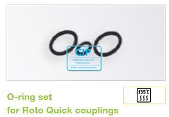 W&H ROTOQUICK KOPPELING O-RINGEN SET 07508900