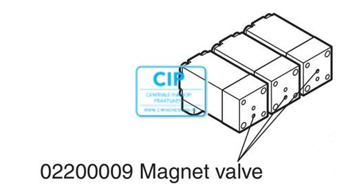 PLANMECA COMPACT i MAGNET VALVE BURKERT