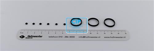 WOODPECKER O-RINGENSET TBV HANDSTUK HW-3H/7H (6x small/3x large)