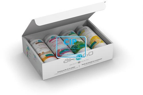 SATELEC AIR-N-GO POEDER ASSORTIMENT MUNT/CITROEN/FRAMBOOS/COLA (4x250gr)