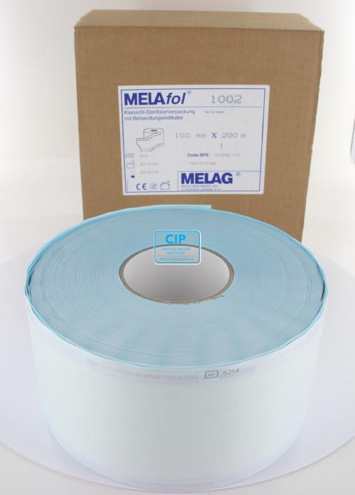 MELAG MELASEAL STERILISATIEZAKJES OP ROL 10cm (200mtr)
