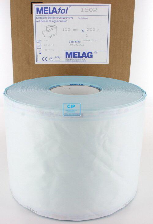 MELAG MELASEAL STERILISATIEZAKJES OP ROL 15cm (200mtr)